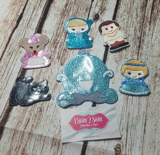 Princess Finger Puppets Children's Play Pretend