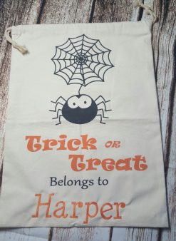 Trick-or-Treat Drawstring Halloween Bag