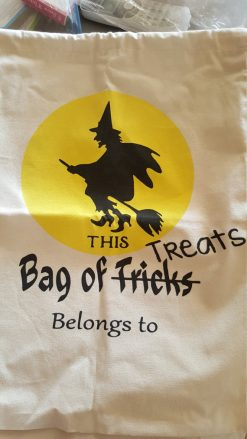 Bag of Treats Drawstring Halloween Bag
