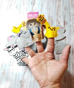 Noah's Ark Finger Puppets Children's Play Pretend