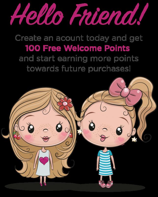 1Sister2Sister Friends Rewards Points Program