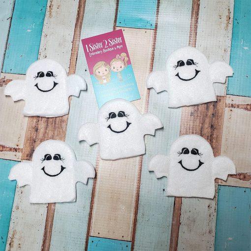 Halloween Candy Holder Ghosts