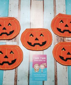 Pumpkin Halloween Candy Holders