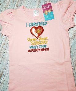I survived open heart surgery shirt