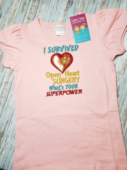 I survived open heart surgery shirt