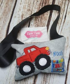 tooth fairy pillow - monster truck