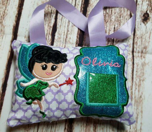 tooth fairy pillow - fairy girl