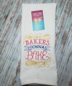 Bakers gonna bake dishtowel