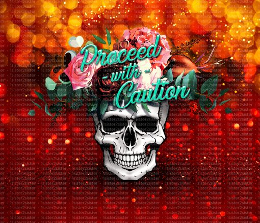 Flower skull red printable download design for sublimation and more.