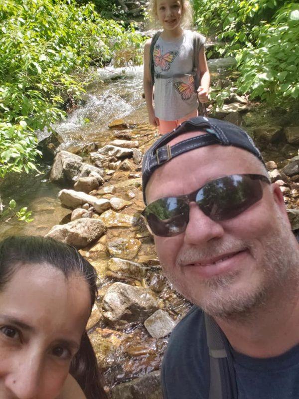 1sister2sister family hike for Theresa's birthday!