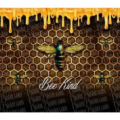 bee kind bottle design closeup