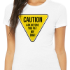 Caution ask before you pet my dog tee shirt