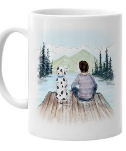 Dalmatian Dad Father's Day Mug