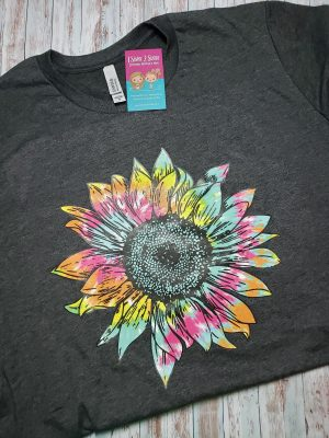 Hippie Sunflower Tee Shirt