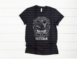 Blood, Sweat, and Tears Veteran Tee Shirt