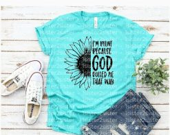 I'm blunt because God rolled me that way tee shirt