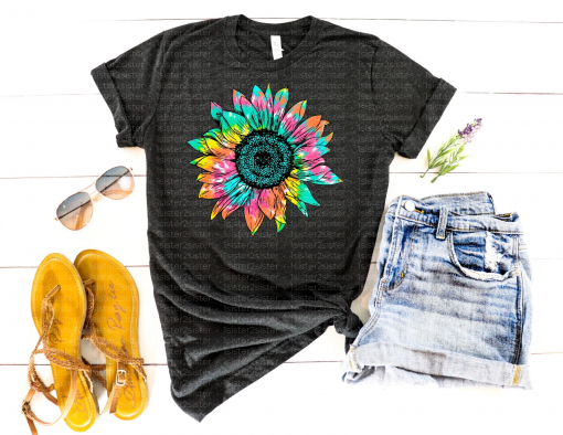 Hippie Sunflower Tee Shirt