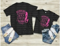 Mermaid Kisses and Starfish Wishes Tee Shirt
