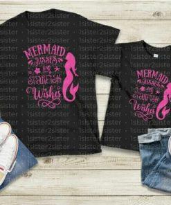 Mermaid Kisses and Starfish Wishes Tee Shirt