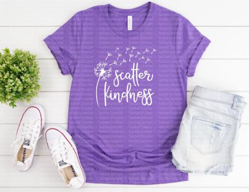 Scatter Kindness Dandelion Tee Shirt