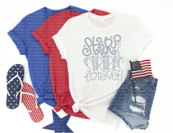 Stars and Stripes Forever Tee Shirt
