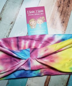 Tie Dye Headbands for teen girls and adult women.
