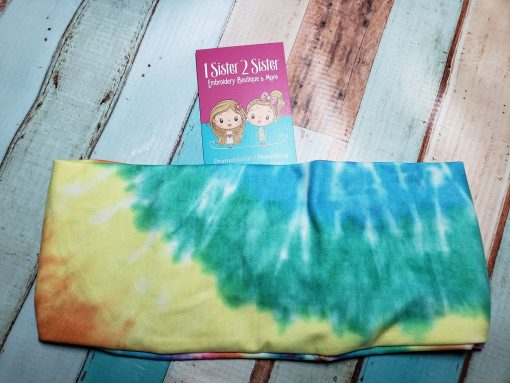 Tie Dye Headbands for teen girls and adult women.