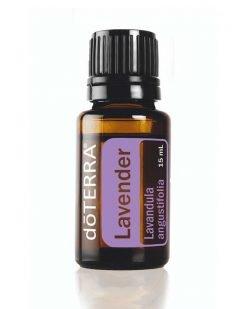 DoTerra Lavender Essential Oil 15ml bottle.
